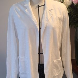 Chico's White Cardigan Size Large